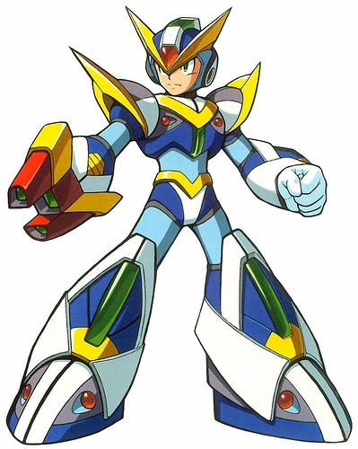 Armaduras de Megaman X [All]