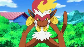 El pokemon mas fuerte de Ash. EP632_Infernape_de_Ash