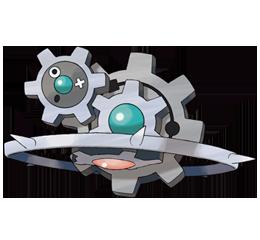 Тип покемона:Земляной/каменный/железный Klinklang