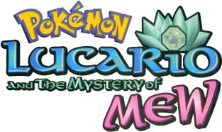P08 Lucario y el misterio de Mew. English_P08_Logo