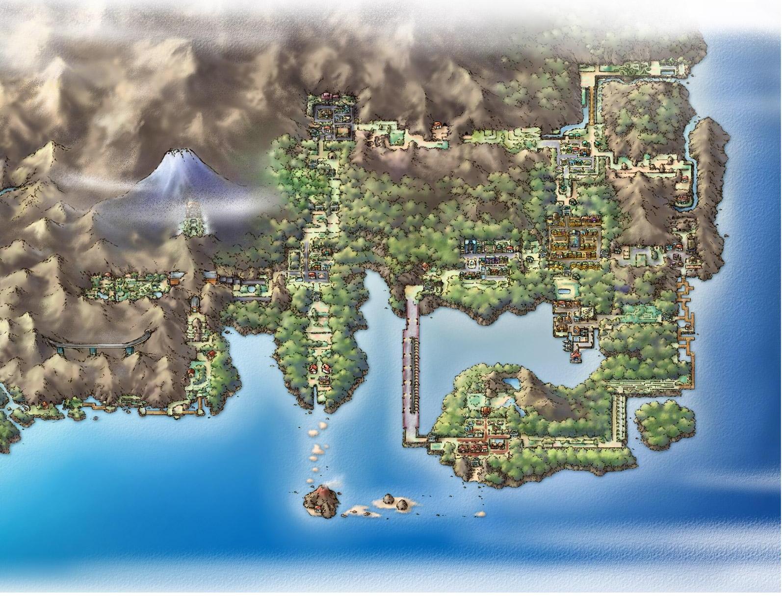 pokemon: la región de kanto
