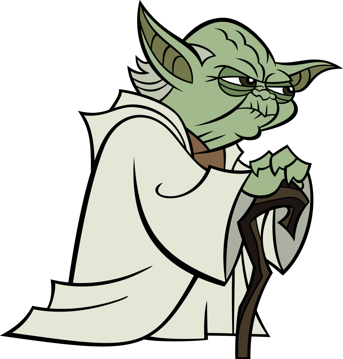 How To Draw Master Yoda Star Wars Tutorial Drawing | Apps Directories