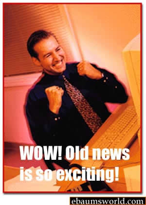old news is so exciting