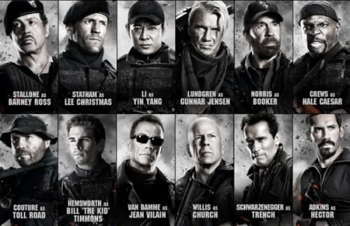 نفراد : نُسخة الـ R5 للجزء الثانى من فيلم الأكشن والمغامره المنتظر The Expendables 2 2012 مُترجم على اكثر من سيرفر The-Expendables-2-500x323