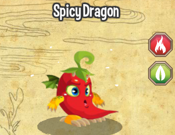 Image - Spicy dragon lv1-3.png - Facebook Dragon City Wiki