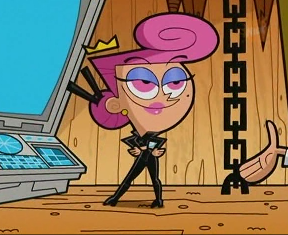 Wanda on The Fairly Oddparents Timmy Teeth