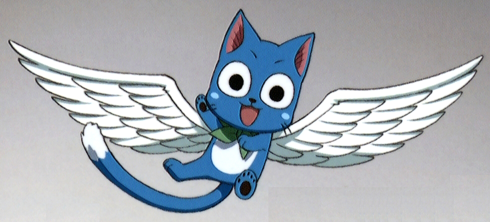 Image - Happy with wings.jpg - Fairy Tail Wiki, the site ...