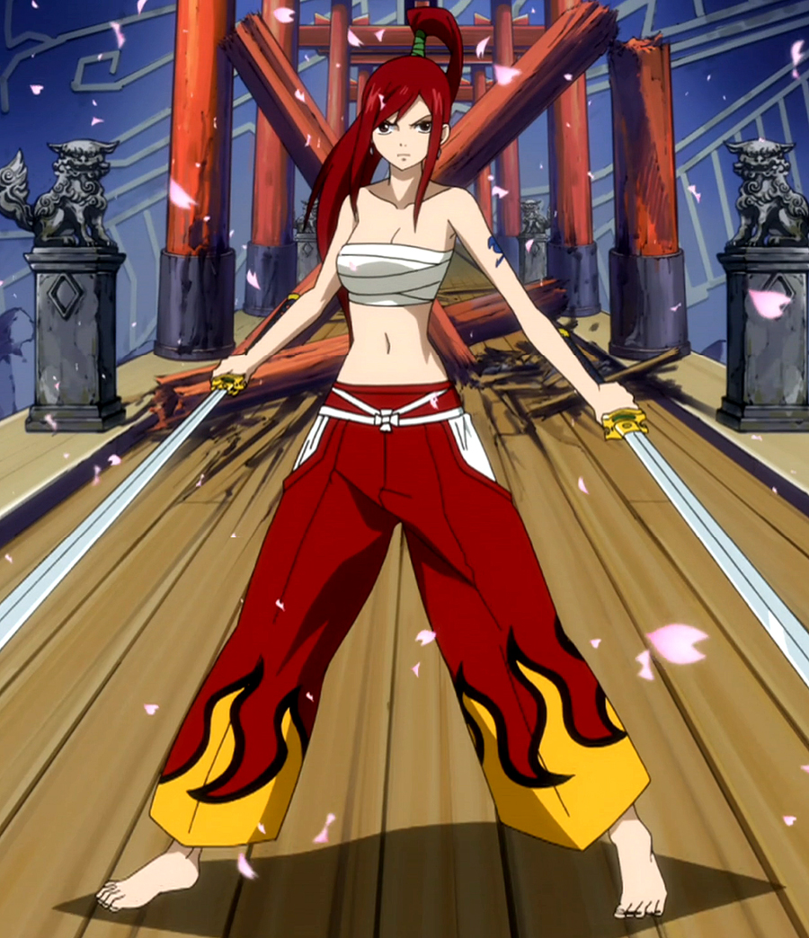 My Character in Fairy Tail  Clothe_Erza