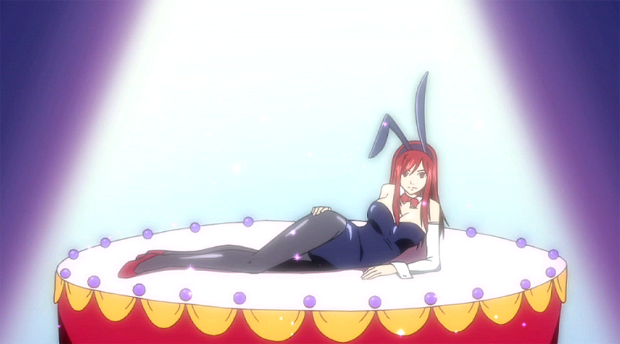 My Character in Fairy Tail  Erza_bunny_suit