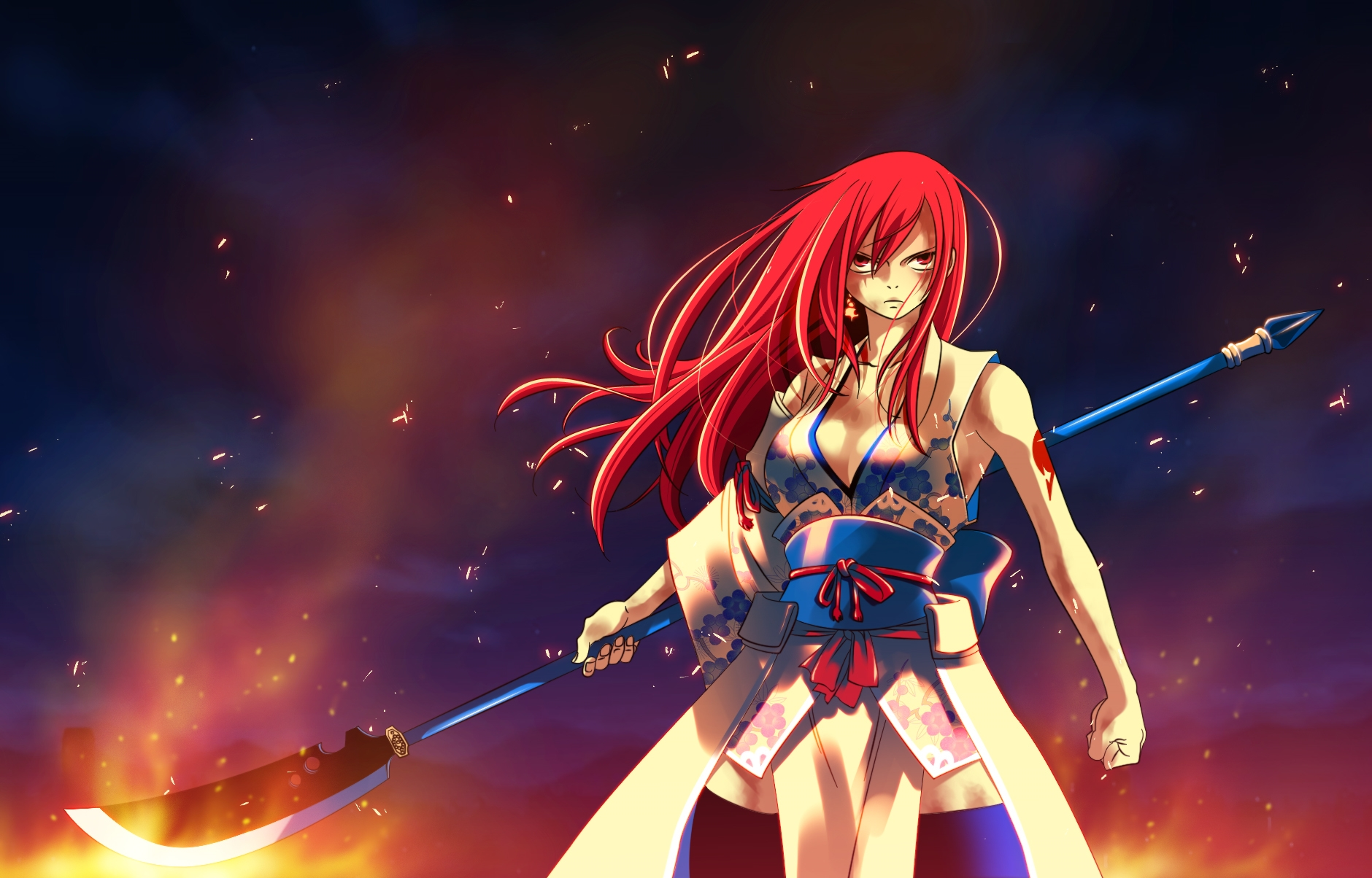 Image - Erza Scarlet 28.jpg - Fairy Tail Wiki, the site for Hiro ...