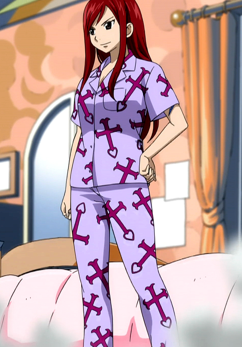 My Character in Fairy Tail  Erza%27s_pajamas_requip