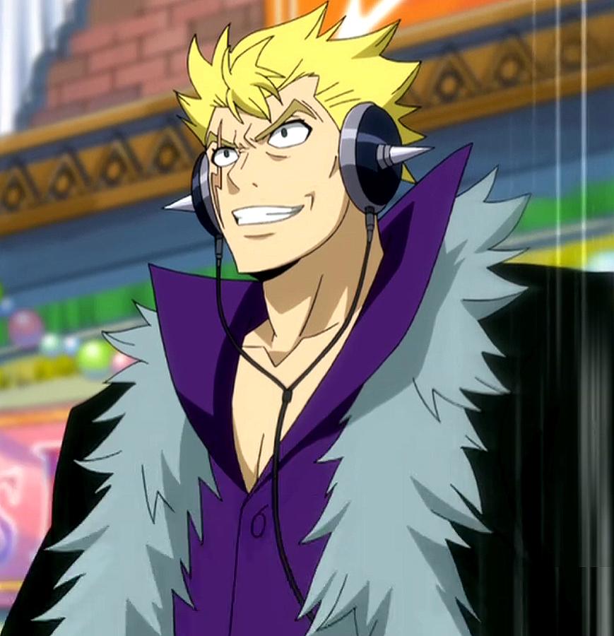 Fairy Tail † ~: Laxus Dreyar