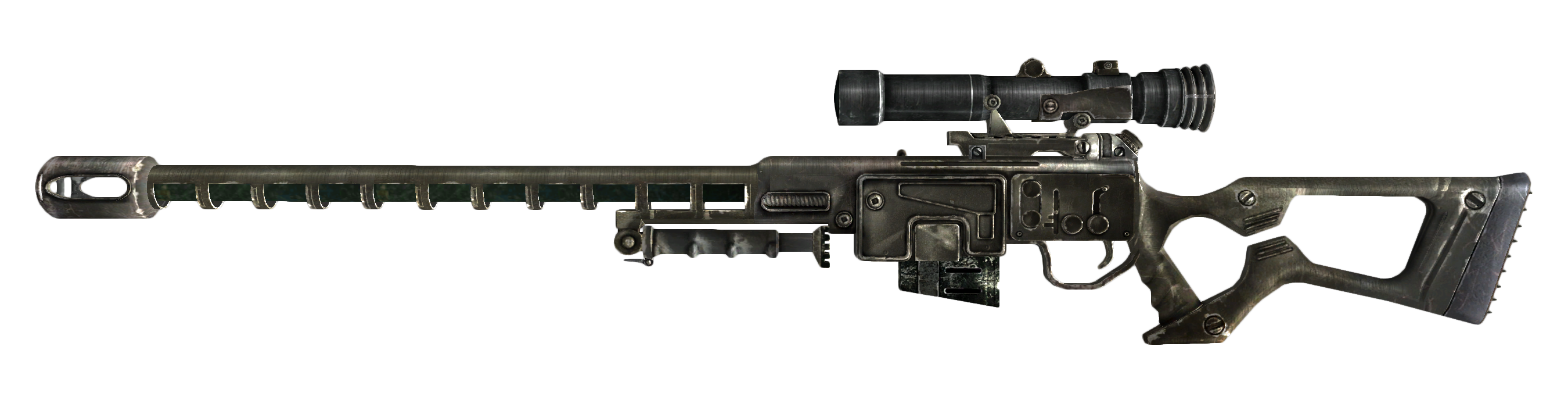 Image - Sniper rifle.png - The Fallout wiki - Fallout: New Vegas and more