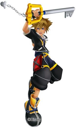 Kingdom Hearts 3D Sora
