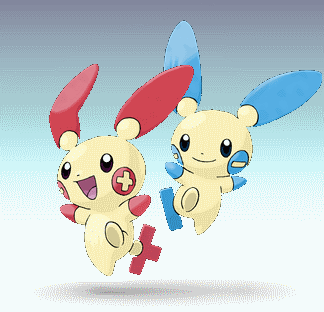 File Plusle and Minun SSBD pngPlusle And Minun