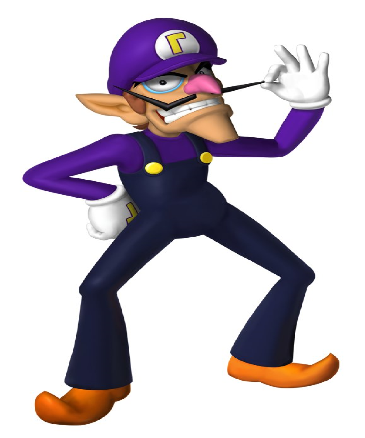 Image - Waluigi (mariokirby).png - Fantendo, the Video ...