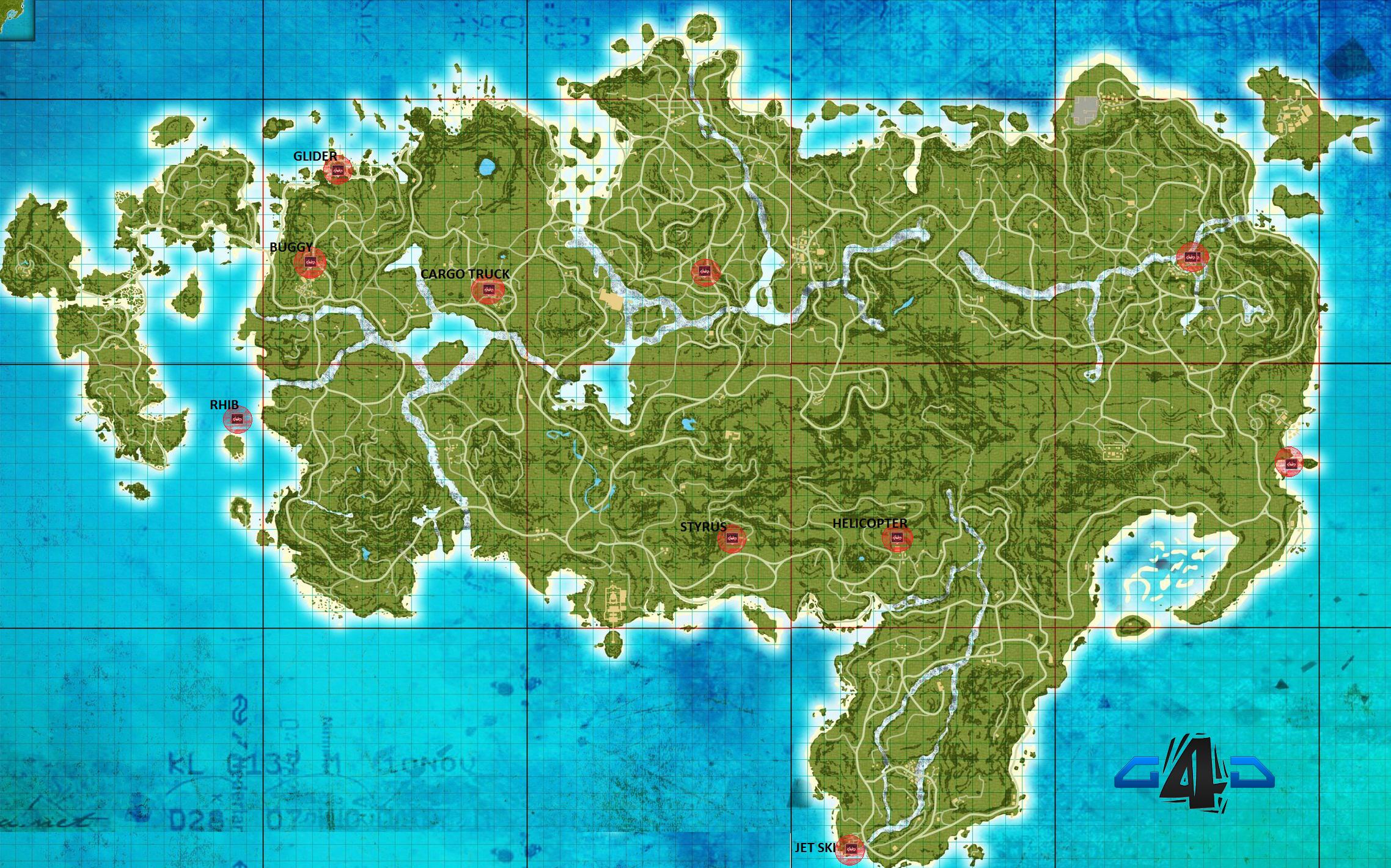Far Cry Maps