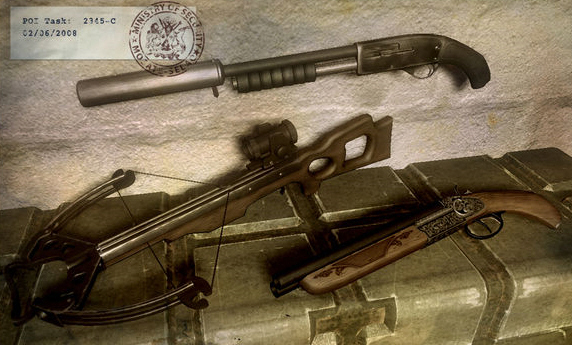 Far Cry 2 weapon images - Far Cry Wiki