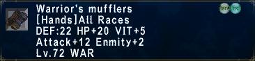 Warrior's Mufflers