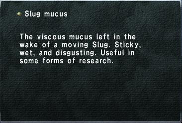 Slug Mucus | RM.