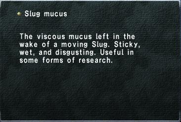 Slug Mucus | RM.