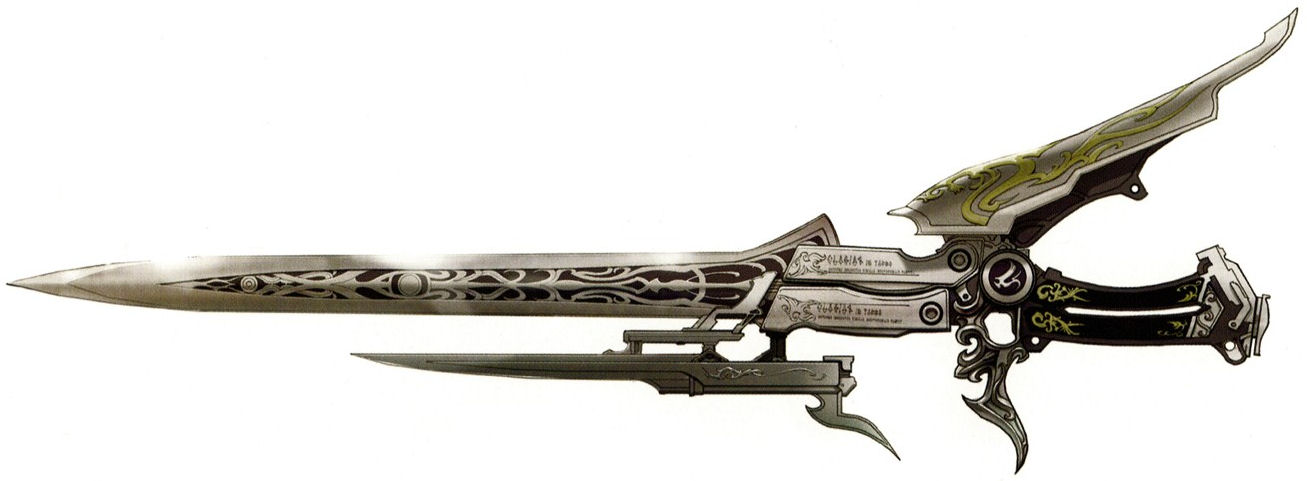 Weapons           FFXIII-2_Gunblade
