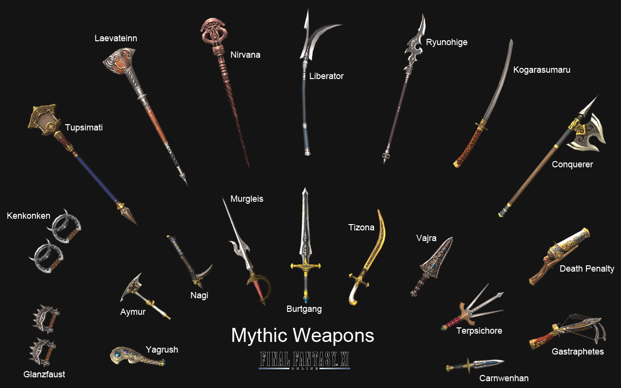 Mythic Weapon - The Final Fantasy Wiki has more Final Fantasy ...