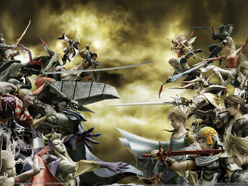 dissidia wallpaper. The Final Fantasy
