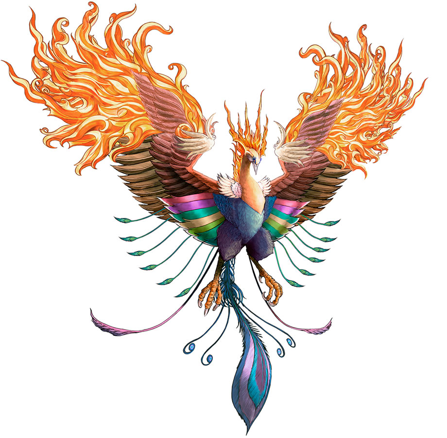 Phoenix artwork from Crisis