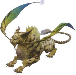 Final Fantasy Bestiary A E Coeurl | RM.