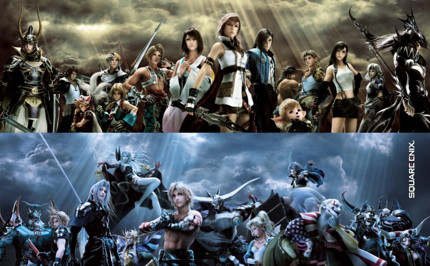 Dissidia 012 Duodecim Final Fantasy Dissidia_012_Main_Cast