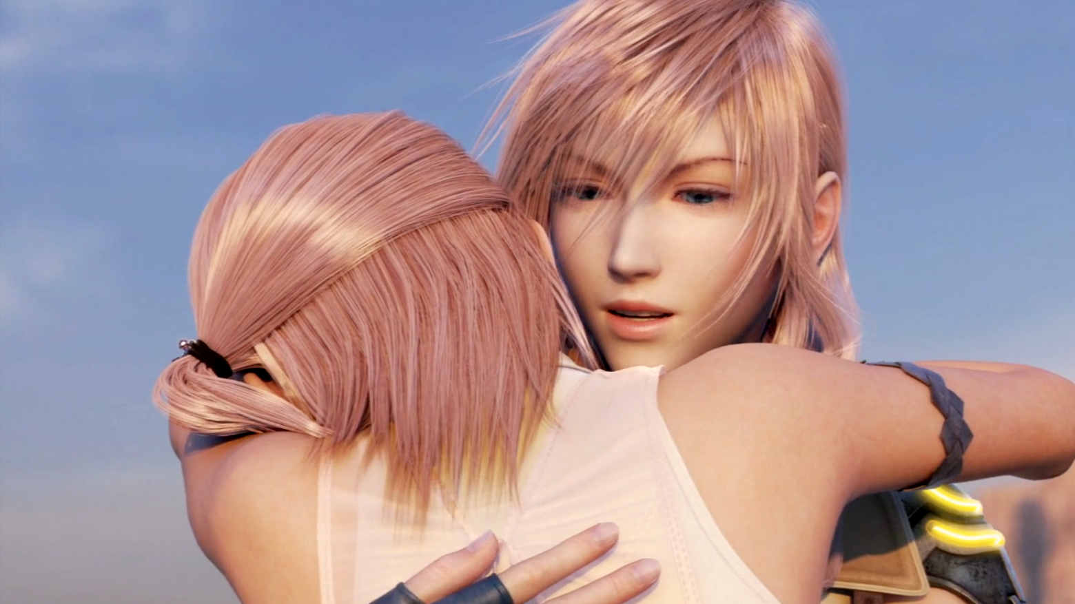 Serah amp Lightning reunite pngFinal Fantasy Serah And Lightning