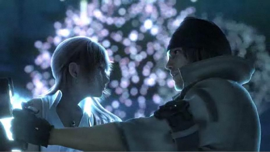Serah & Snow - Final Fantasy XIII