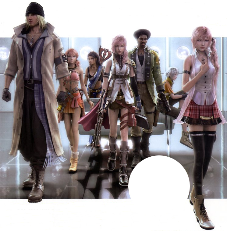 Final Fantasy Xiii Characters 1810  December 10  2009