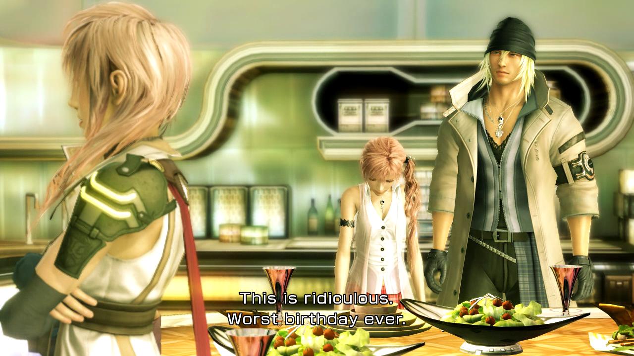 lightning final fantasy. Final Fantasy XIII Episode