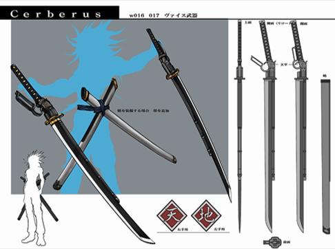 Las Gunblades en final fantasy Weiss_Swords_Artwork