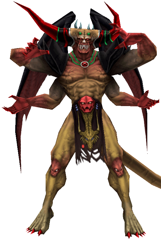 Boss / Villain Suggestion: Chaos DissidiaChaosRender