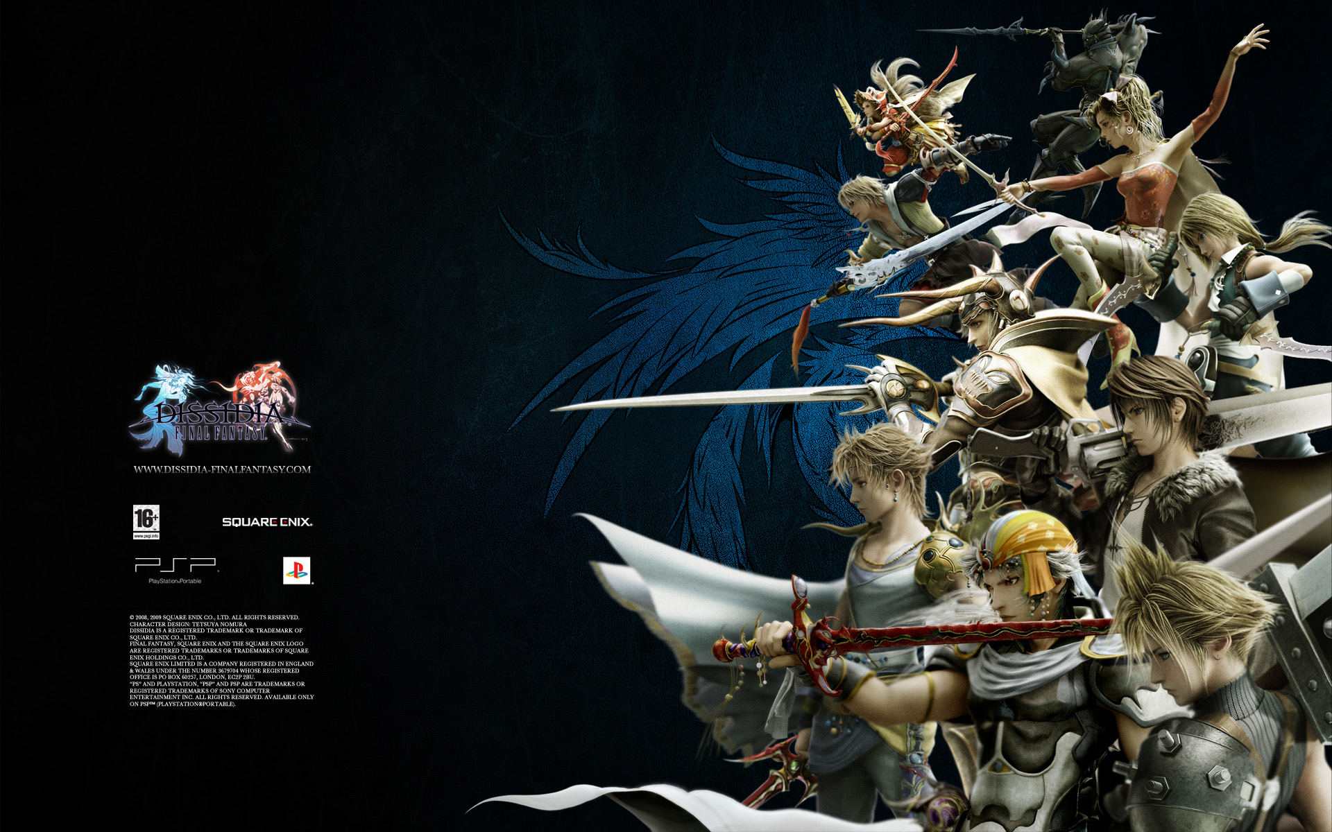 "Media in category ""Dissidia Final Fantasy Wallpapers"""