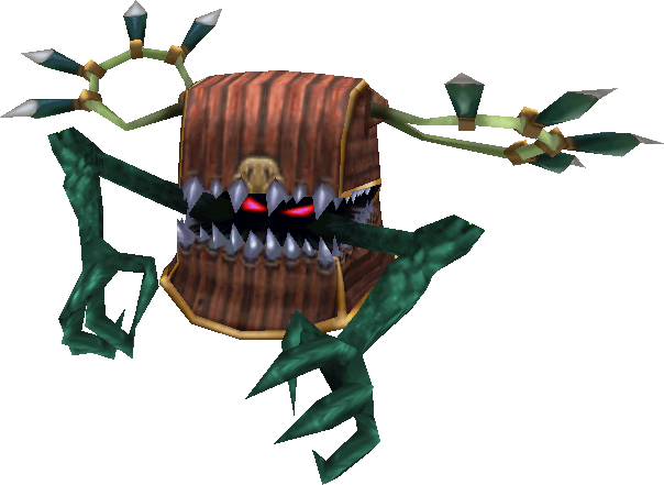 10 least Favorite Game Characters? Mimic-ffix