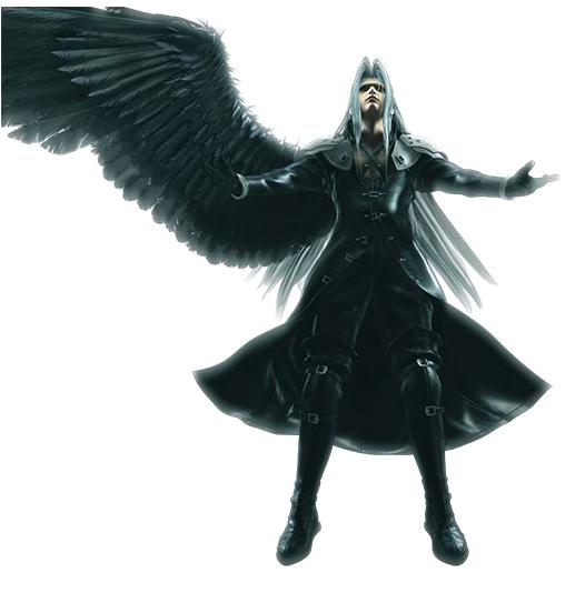 Sephiroth One Winged Angel Tattoo Sephiroth final fantasy 7 One Winged Angel Sephiroth