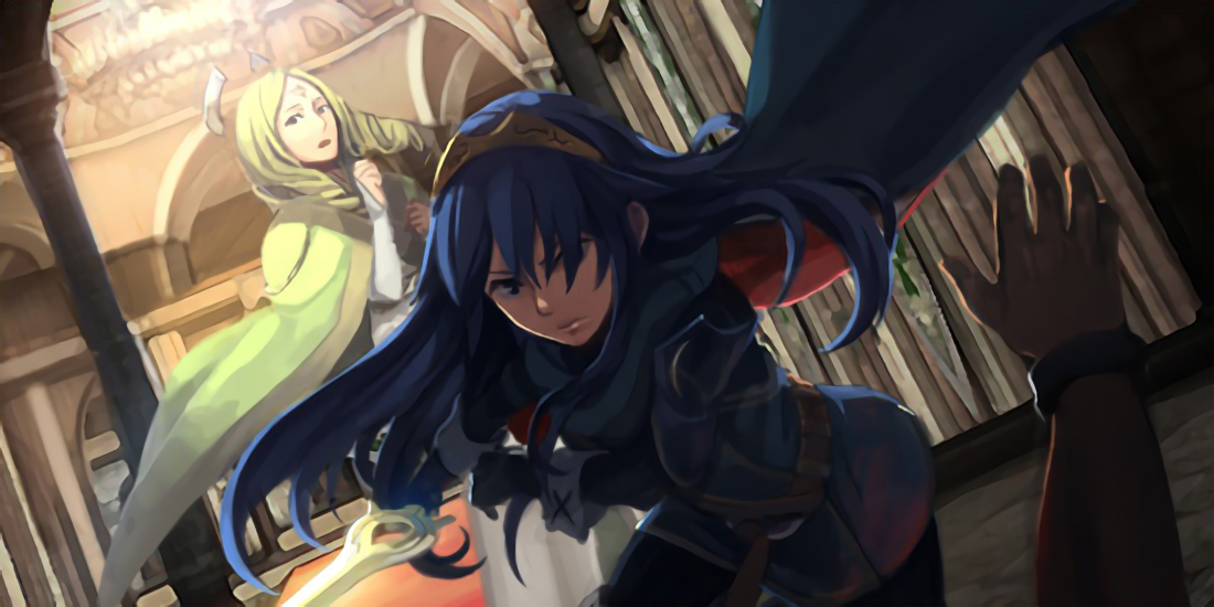 Image - Lucina saving Emerina png - The Fire Emblem Wiki - Shadow    Fire Emblem Lucina And Avatar