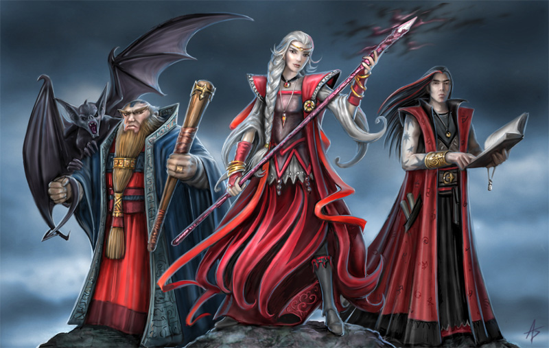 Red Wizards of Thay - The Forgotten Realms Wiki - Books, races ...