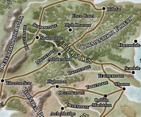 Dalelands - The Forgotten Realms Wiki - Books, races, classes, and ...