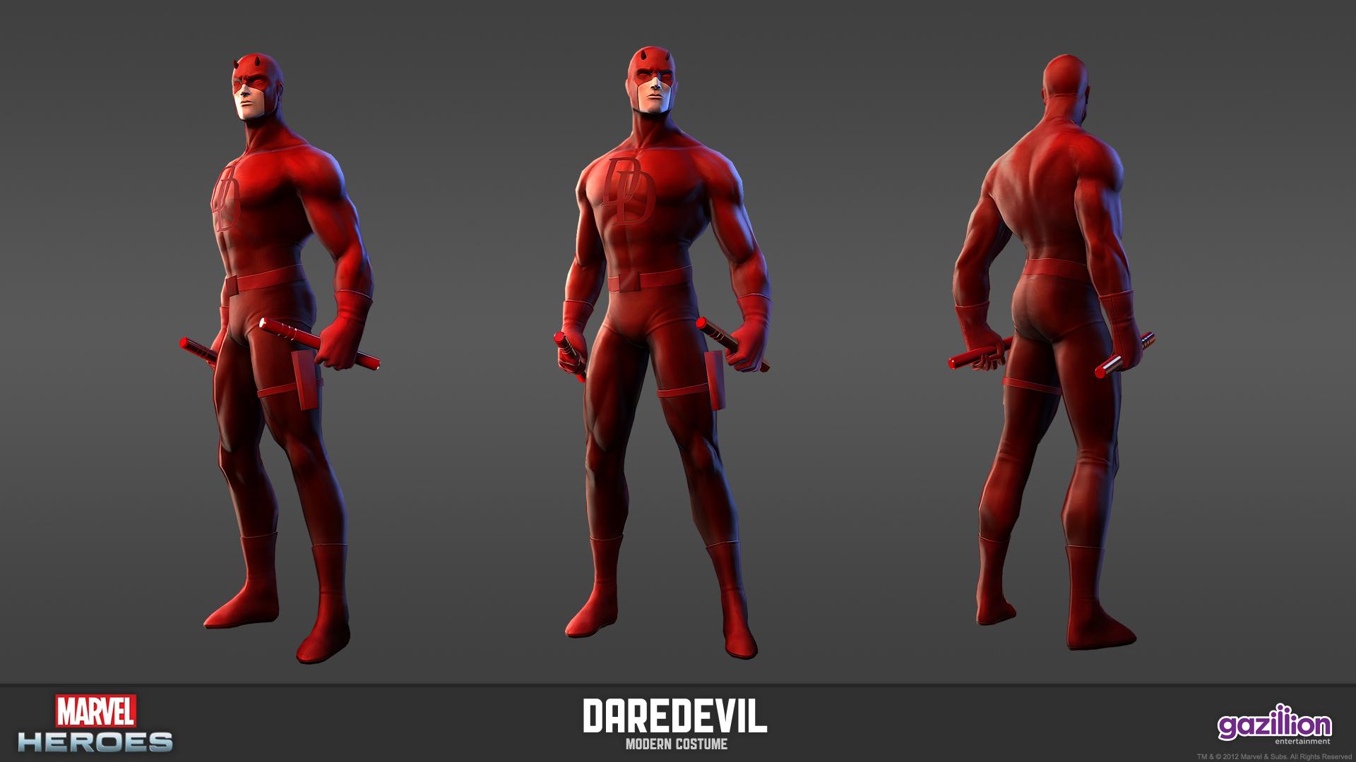 Marvel heroes daredevil 001