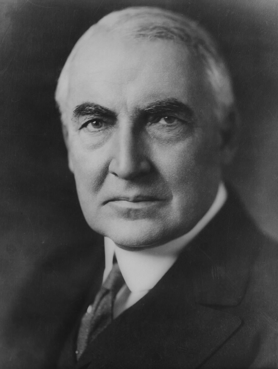 Warren Gamaliel Harding (1865-1923) - Familypedia