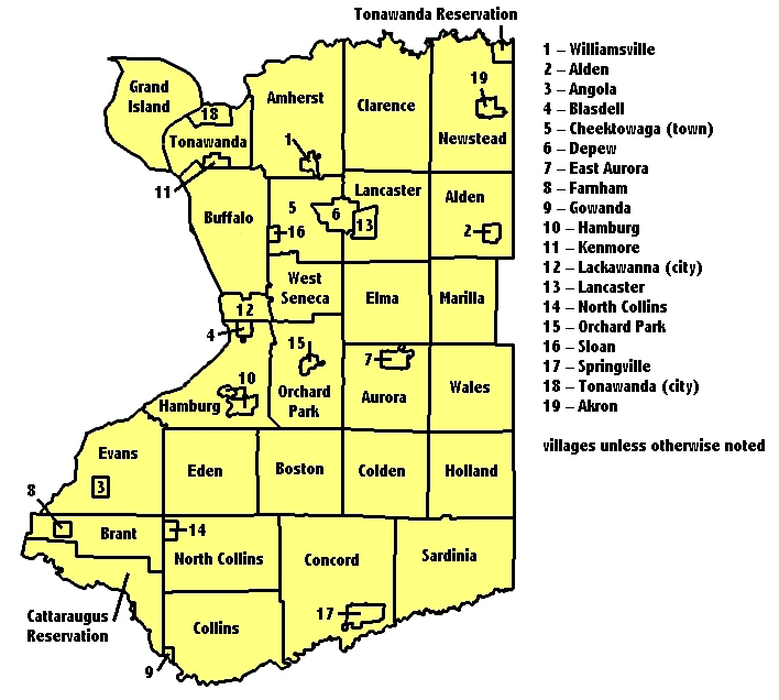 new york state map cities. new york state map with cities