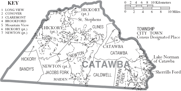 Catawba County, North Carolina - Familypedia