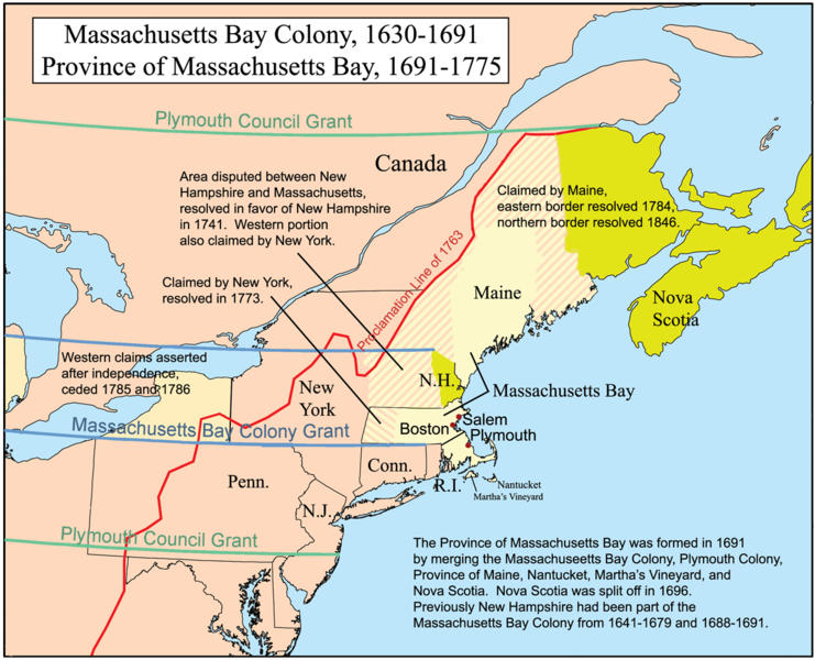 Massachusetts Bay Colony - Familypedia