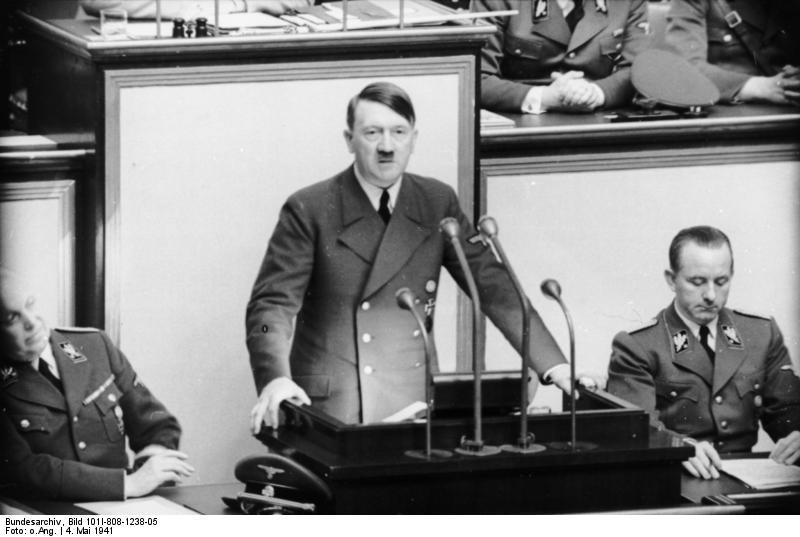 Adolf Hitler Größe