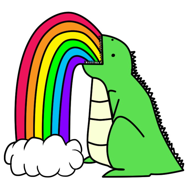 Dinosaur_puking_rainbows.png